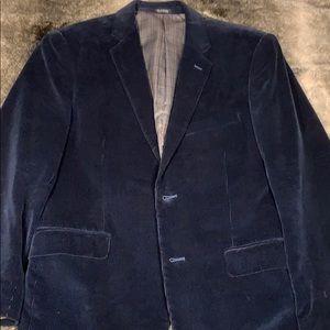 Saddlebred Corduroy Navy Blazer